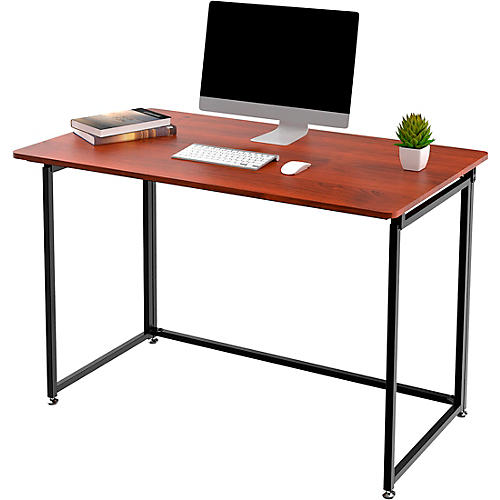 ProHT Foldable Writing Desk Brown