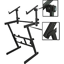 On-Stage Folding Heavy-Duty Dual-Tier Z Stand Level 1
