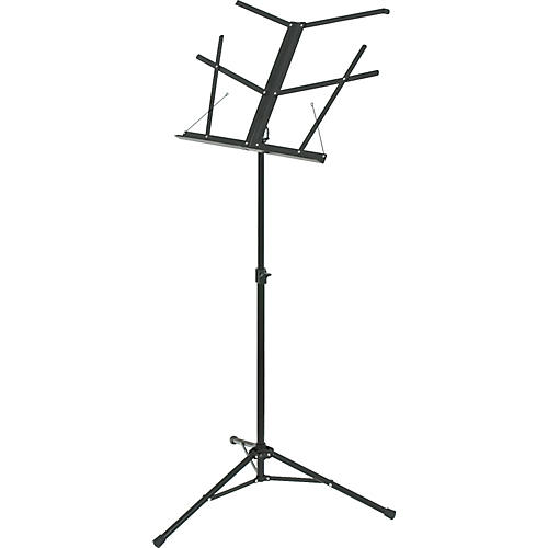 how to open a music stand