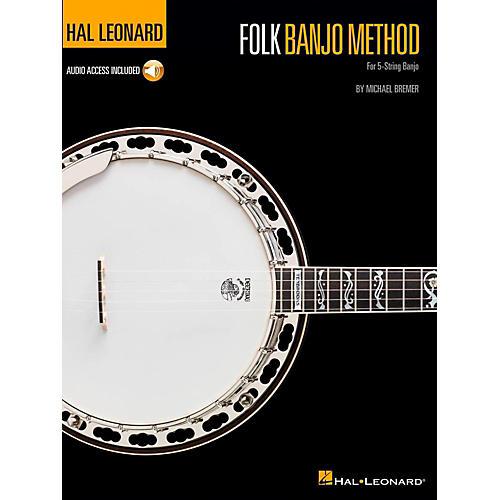 Hal Leonard Folk Banjo Method (Book/Audio Online)