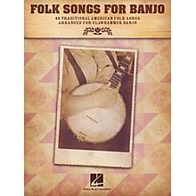 Hal Leonard Folk Songs For Banjo