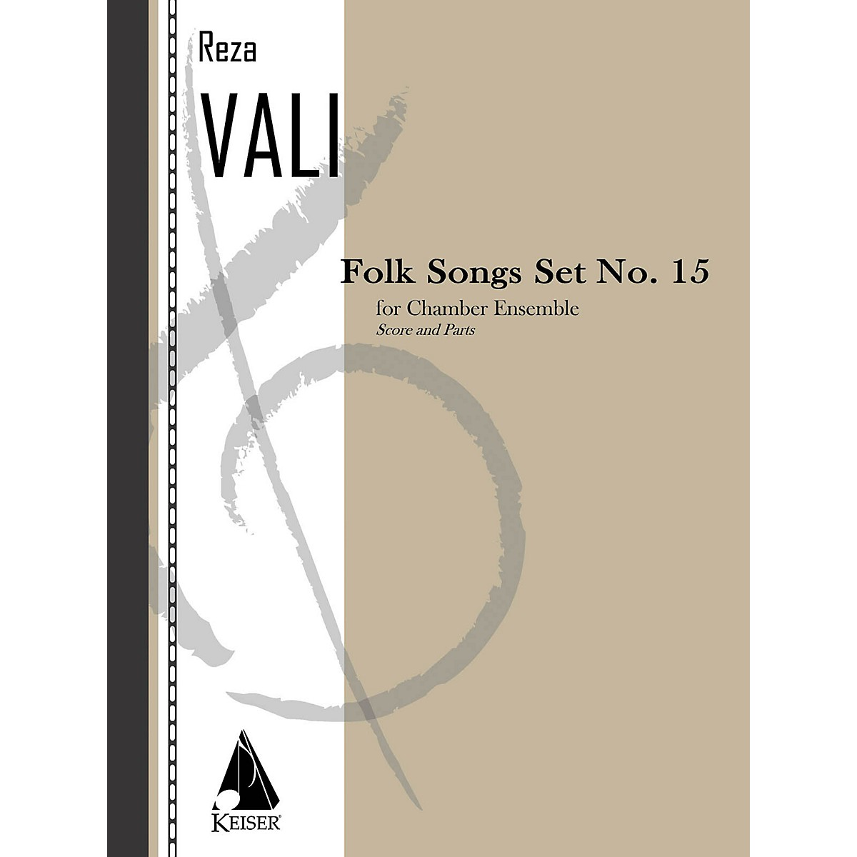 Lauren Keiser Music Publishing Folk Songs: Set No. 15 for 5 Players, Score and Parts LKM Music Series by Reza Vali