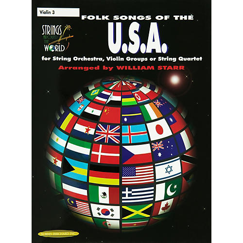 Alfred Folk Songs of the U.S.A for Violin 3