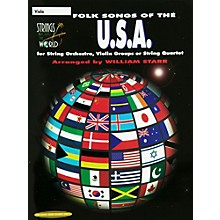 Alfred Folk Songs of the USA Viola (Book)