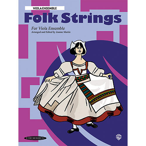 Summy-Birchard Folk Strings for Ensemble Viola Ensemble