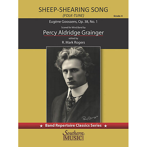 Southern Folk Tune: Sheep Shearing Song (Score and Parts) Concert Band Level 4 arranged by Percy Grainger