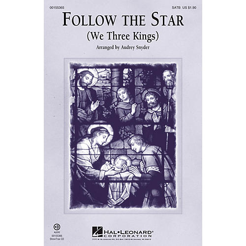 Hal Leonard Follow the Star SATB arranged by Audrey Snyder
