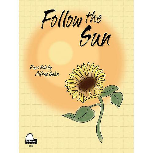 SCHAUM Follow the Sun Educational Piano Series Softcover
