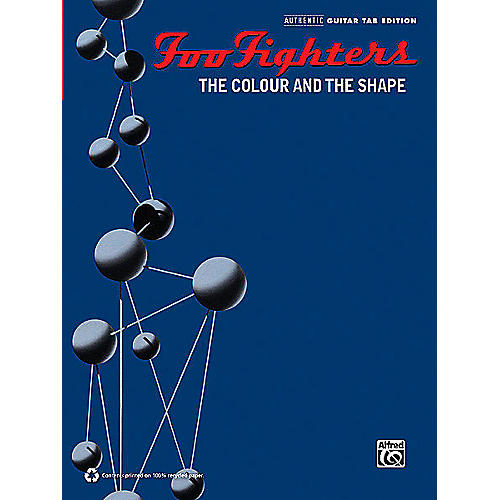 Hal Leonard Foo Fighters - The Colour and the Shape Transcribed Score Book