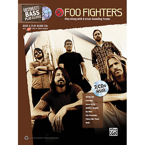 alfred foo fighters ultimate play along bass tab book 2 cds guitar center. Black Bedroom Furniture Sets. Home Design Ideas