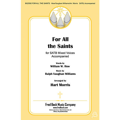 Fred Bock Music For All the Saints SATB arranged by Hart Morris