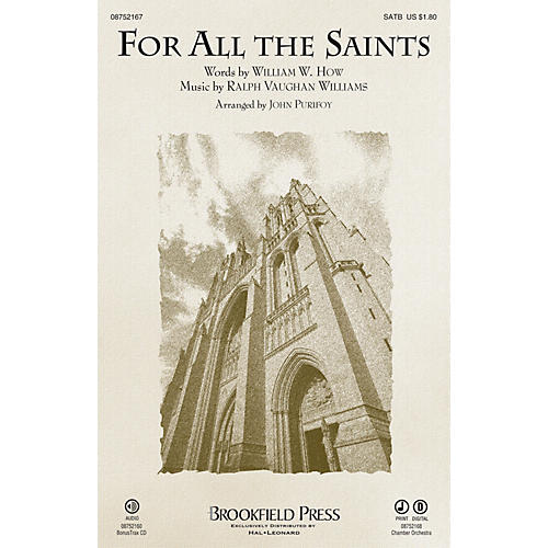 Brookfield For All the Saints SATB arranged by John Purifoy