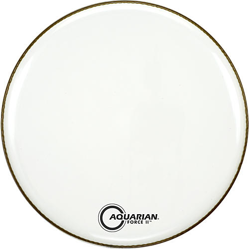 Aquarian Force II Resonant Bass Drum Head