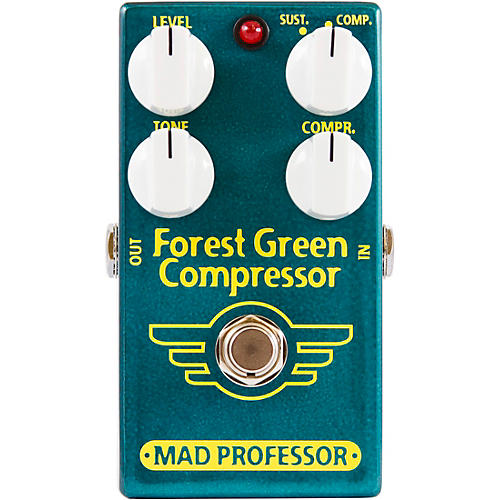 Mad Professor Forest Green Compressor Effects Pedal