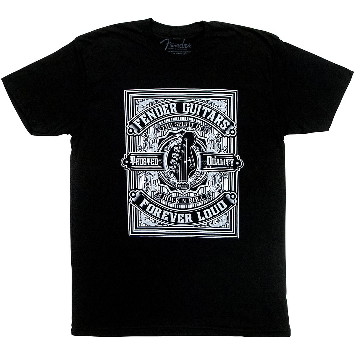 Fender Forever Loud Trusted Quality T-Shirt
