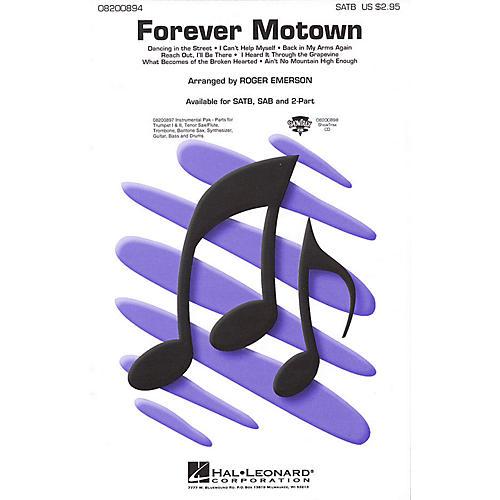 Hal Leonard Forever Motown (Medley) SAB Arranged by Roger Emerson