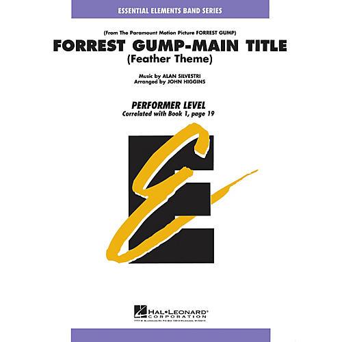 Hal Leonard Forrest Gump - Main Title Concert Band Level .5 to 1 Arranged by John Higgins