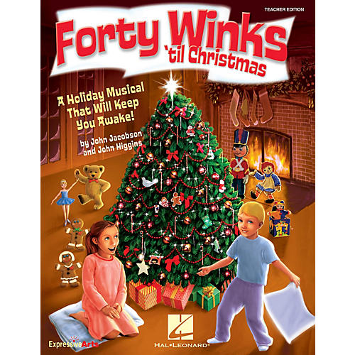 Hal Leonard Forty Winks 'Til Christmas (A Holiday Musical That Will Keep You Awake!) ShowTrax CD by John Higgins