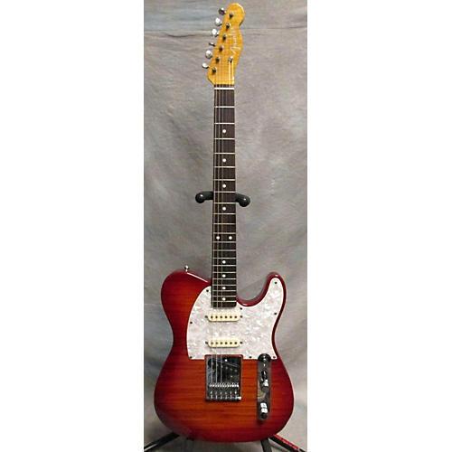 Fender Foto Flame Nashville Telecaster MIJ Solid Body Electric Guitar