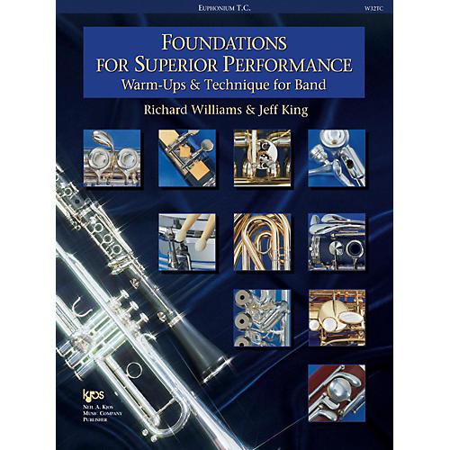 KJOS Foundations for Superior Performance Baritone Tc
