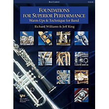 KJOS Foundations for Superior Performance Bass Clarinet