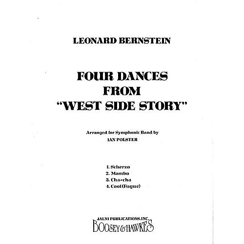 Leonard Bernstein Music Four Dances from West Side Story (Band Score) Concert Band Arranged by Ian Polster