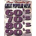 Alfred Four Decades Great Popular Music 60's, 70's, 80's, 90's Book thumbnail