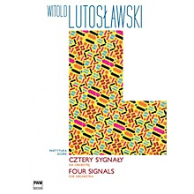 PWM Four Signals for Orchestra PWM Series Composed by Witold Lutoslawski