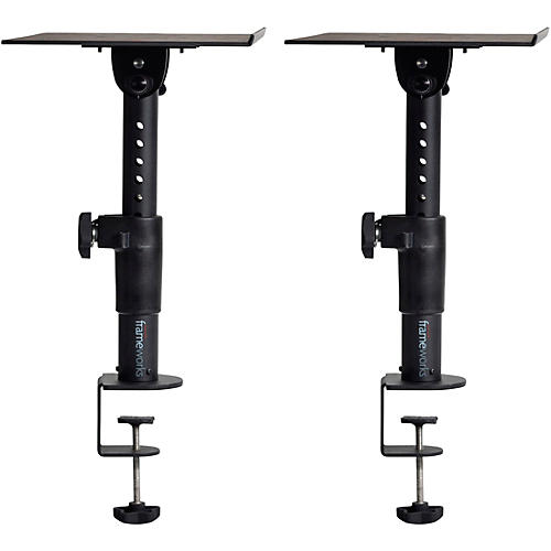 Gator Frameworks Clamp-On Studio Monitor Stand - Pair