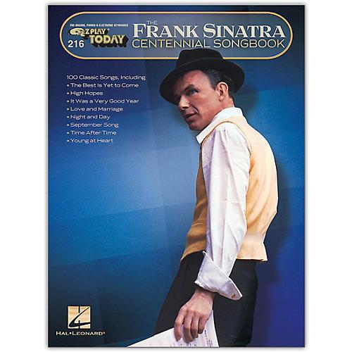 Hal Leonard Frank Sinatra Centennial Songbook E-Z Play Today #216