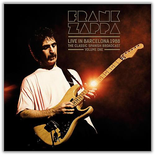 MVD Frank Zappa - Live In Barcelona 1988 Vol. 1 Vinyl LP