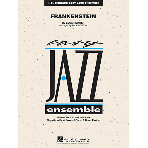 Hal Leonard Frankenstein Jazz Band Level 2 by Edgar Winter Group Arranged by Paul Murtha
