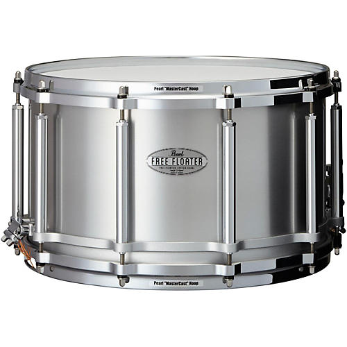 Pearl Free Floating Seamless Aluminum Snare Drum