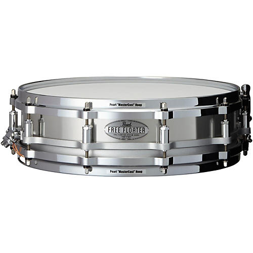 Pearl Free Floating Stainless Steel Snare Drum