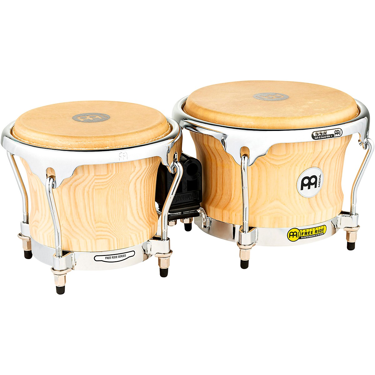 Meinl Free Ride Series Collection Wood Bongos