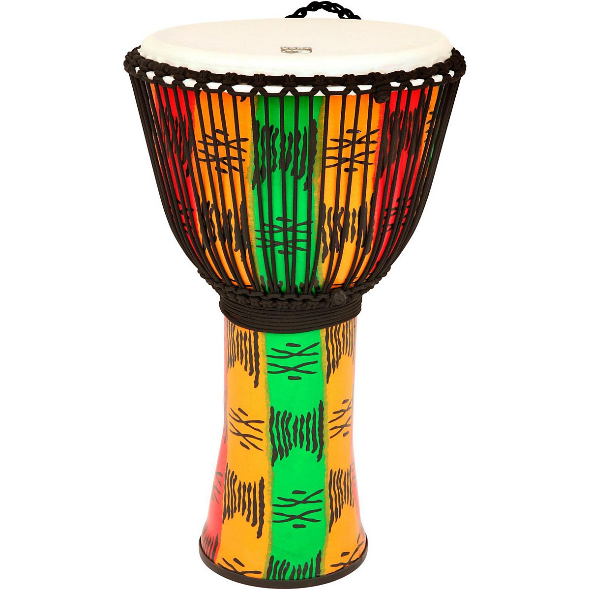 Toca Freestyle Ii Rope Tuned Djembe With Bag 14 In  Spirit