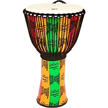FreeStyle II Rope Tuned Djembe with Bag 14 in. Spirit