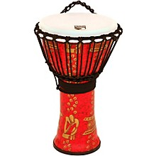 FreeStyle II Rope Tuned Djembe with Bag 14 in. Thinker