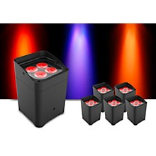 CHAUVET DJ Freedom Flex H4 Wireless RGBAW+UV LED PAR Wash Light with D-Fi