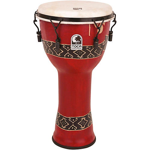 Toca Freestlyle Mechanically Tuned Djembe With Extended Rim