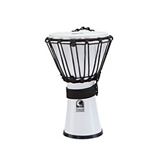 Freestyle ColorSound Djembe Lexus White 7 in.
