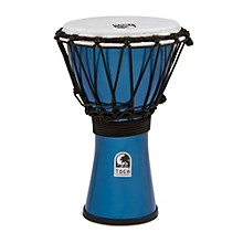Freestyle ColorSound Djembe Metallic Blue 7 in.