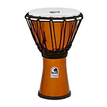 Freestyle ColorSound Djembe Metallic Orange 7 in.