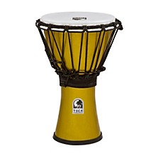 Freestyle ColorSound Djembe Metallic Yellow 7 in.