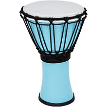 Freestyle ColorSound Djembe Pastel Blue 7 in.