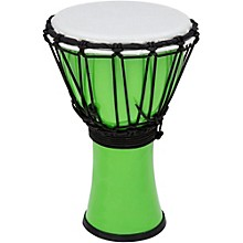 Freestyle ColorSound Djembe Pastel Green 7 in.