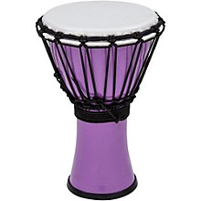 Freestyle ColorSound Djembe Pastel Purple 7 in.