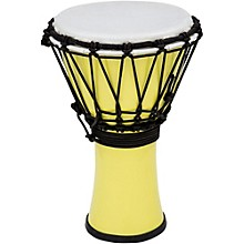 Freestyle ColorSound Djembe Pastel Yellow 7 in.