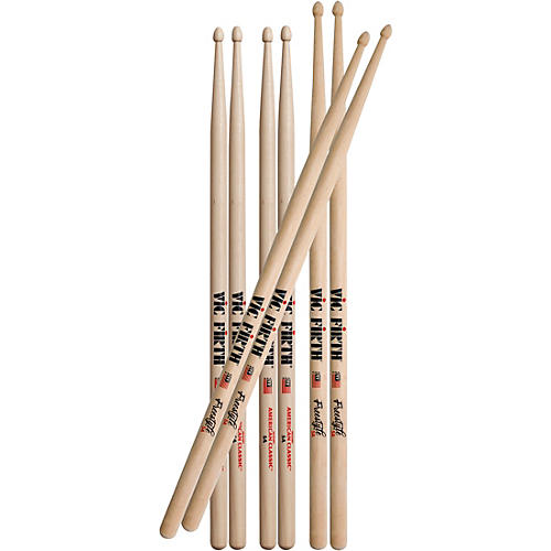 Vic Firth Freestyle Drum Stick Value Pack