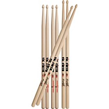 Freestyle Drum Stick Value Pack 5B Wood